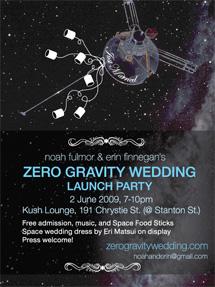 Inbjudan till Noah Fulmors och Erin Finnegans bröllop